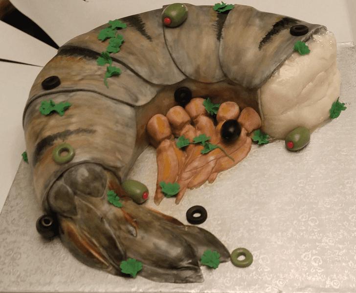 Elegant Shrimp Cake