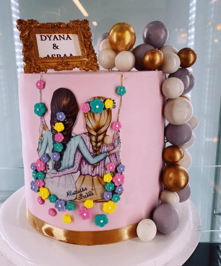 Angelic Sister Cake