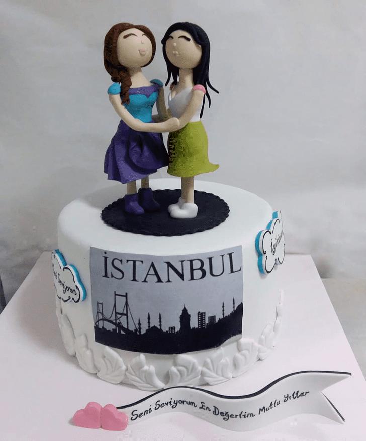 Beauteous Sister Cake