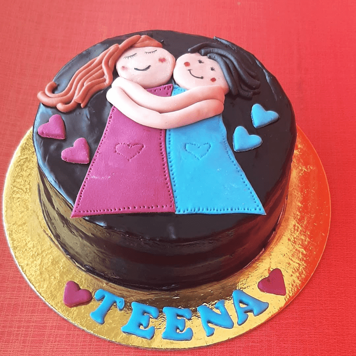 Captivating Sister Cake
