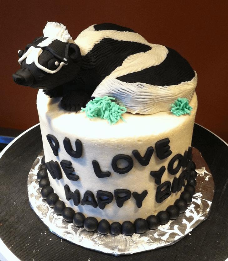 Classy Skunk Cake