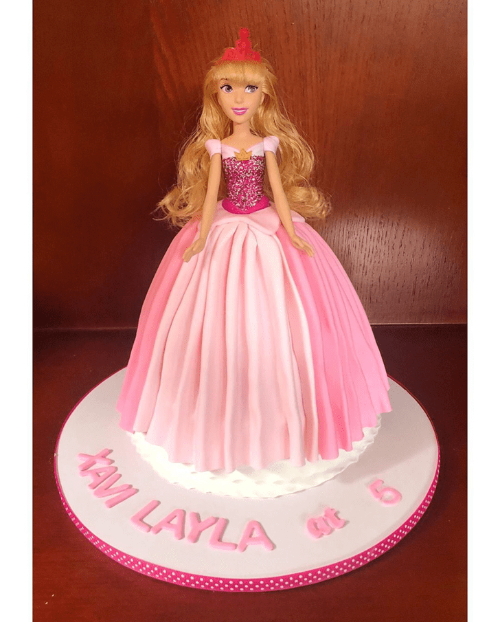 Bewitching Sleeping Beauty Cake