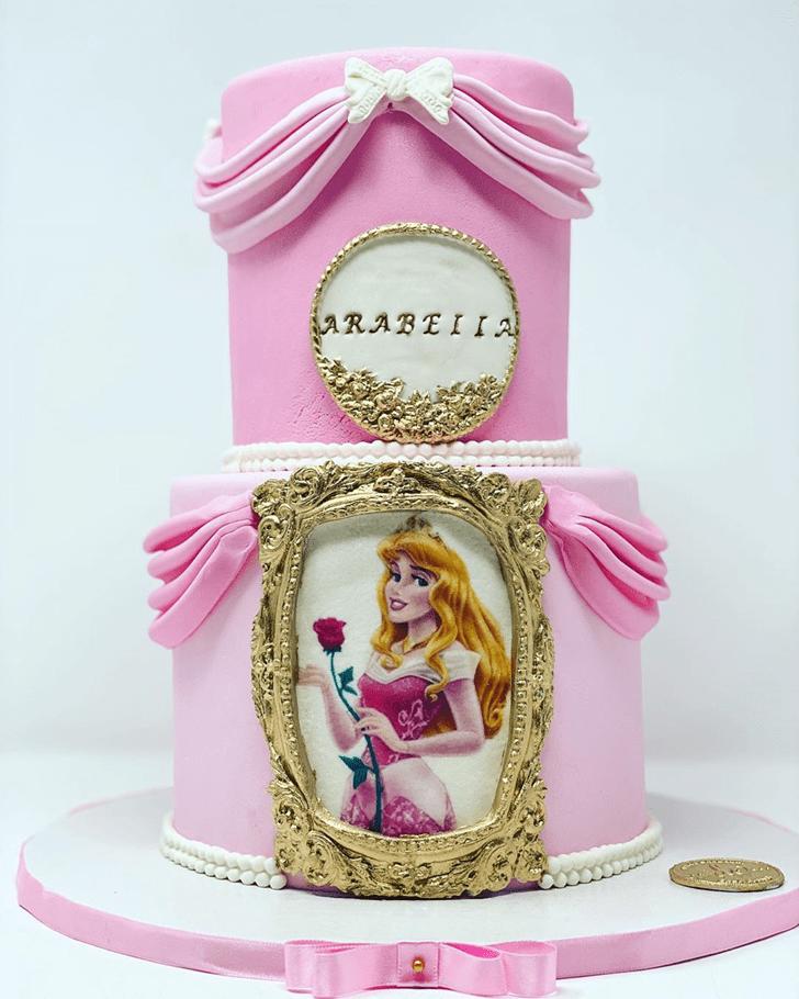 Divine Sleeping Beauty Cake