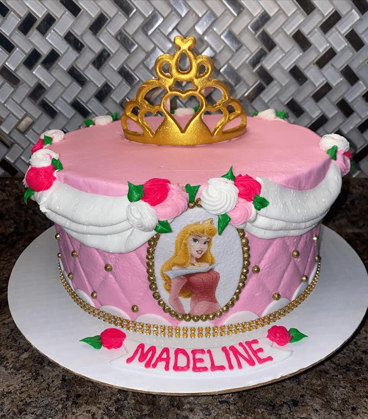 Fine Sleeping Beauty Cake