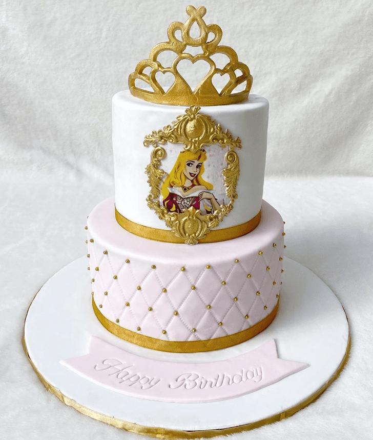 Good Looking Sleeping Beauty Cake