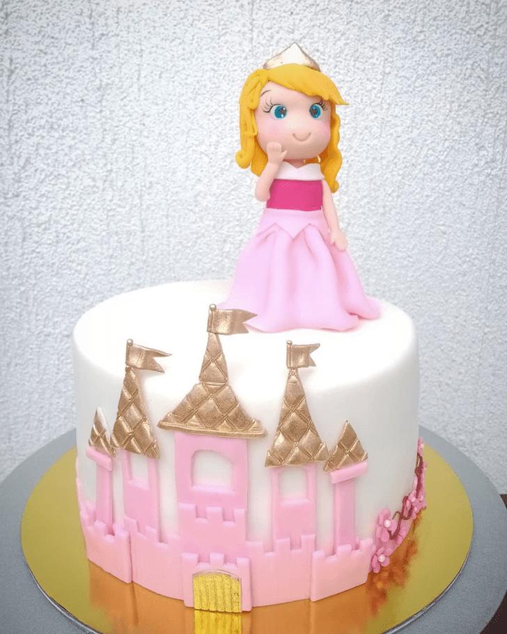 Gorgeous Sleeping Beauty Cake