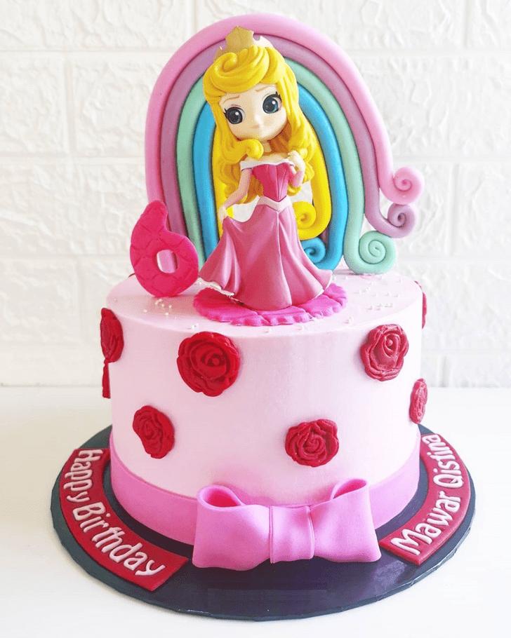 Grand Sleeping Beauty Cake