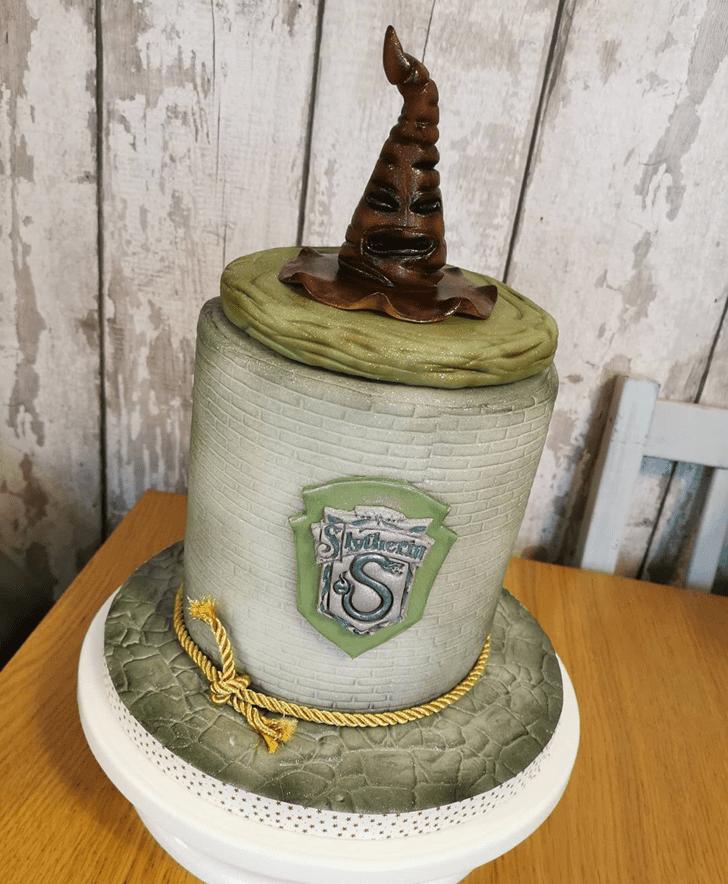 Alluring Slytherin Cake