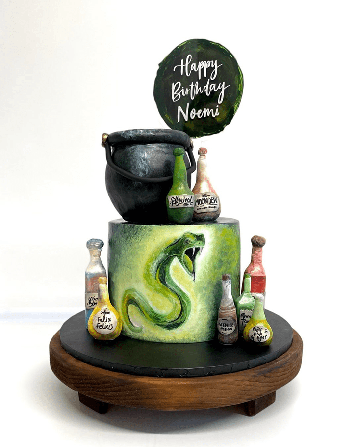 Captivating Slytherin Cake
