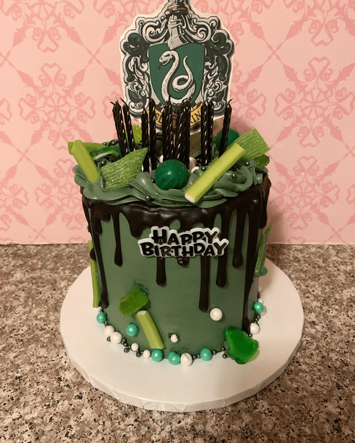 Charming Slytherin Cake