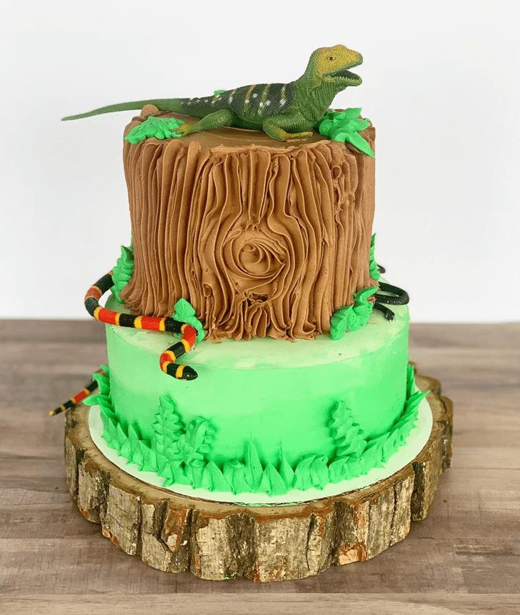 Comely Snake Cake