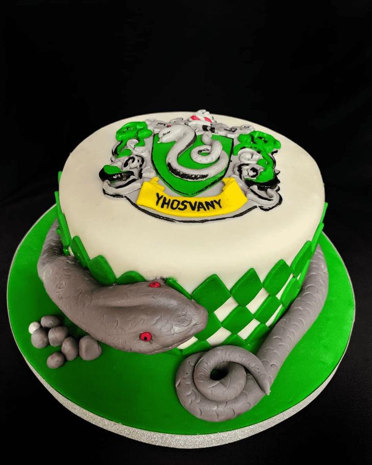Elegant Snake Cake
