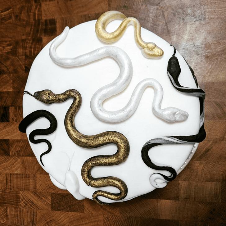 Gorgeous Snake Cake