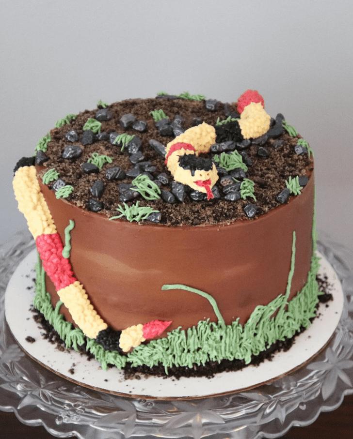 Refined Snake Cake