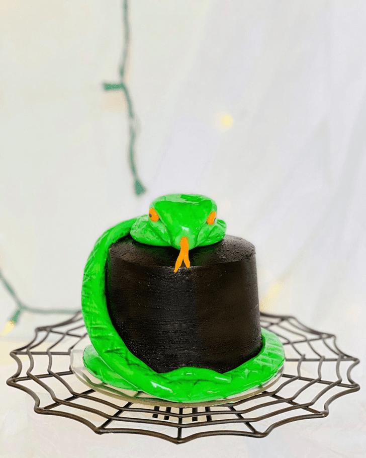 Stunning Snake Cake
