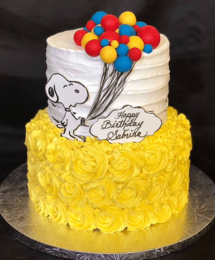 Bewitching Snoopy Cake