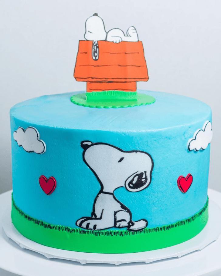 Divine Snoopy Cake