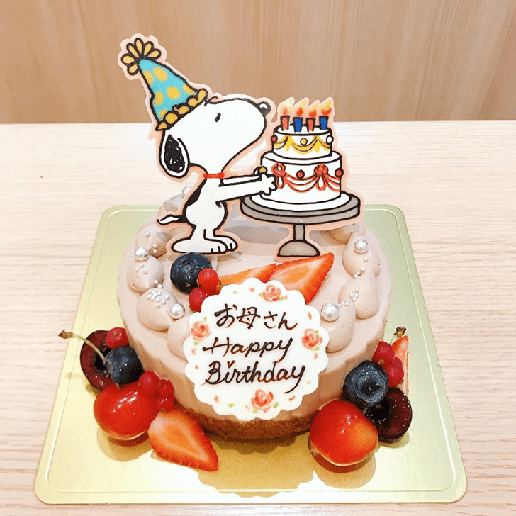 Magnificent Snoopy Cake