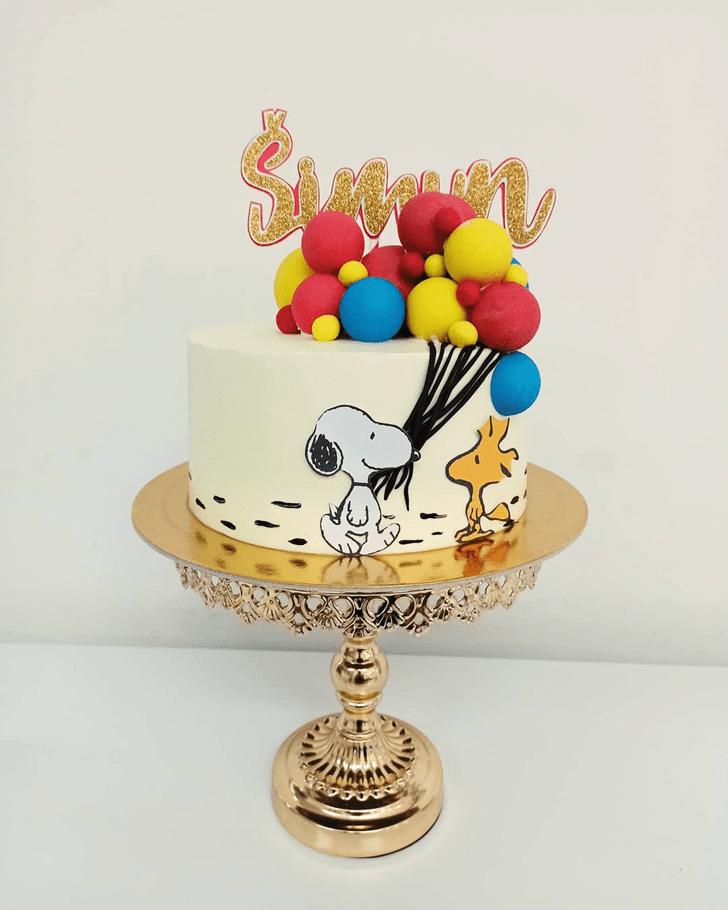 Mesmeric Snoopy Cake