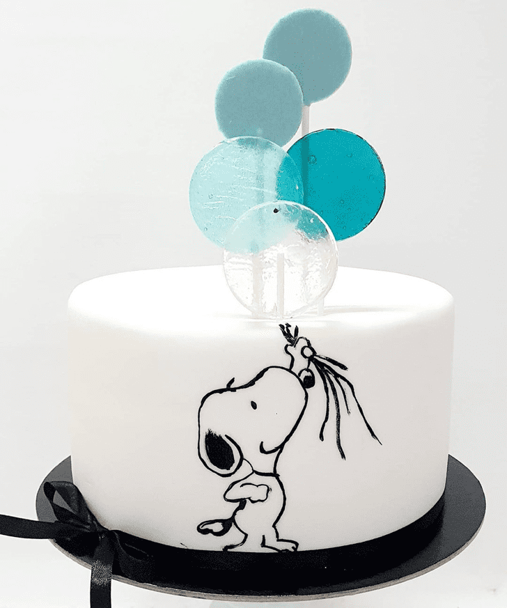 Slightly Snoopy Cake