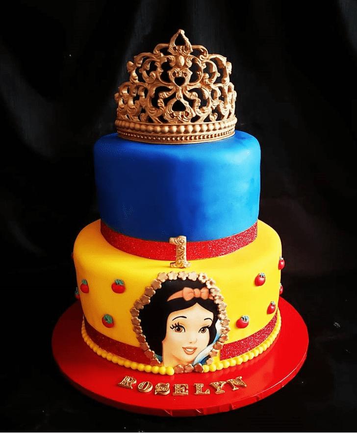 Angelic Snow White Cake