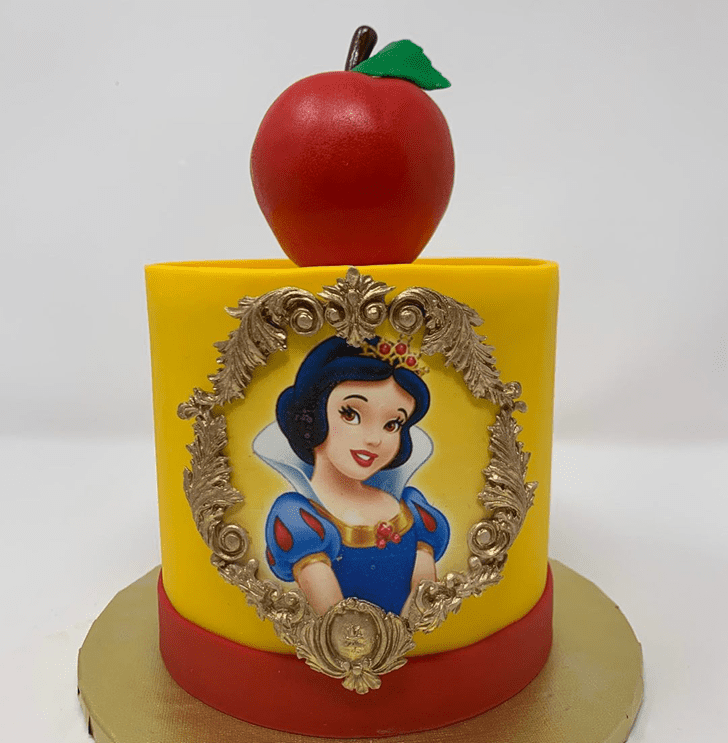 Bewitching Snow White Cake