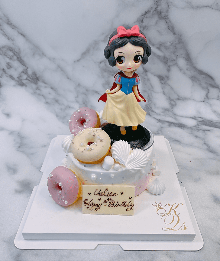 Fair Snow White Cake