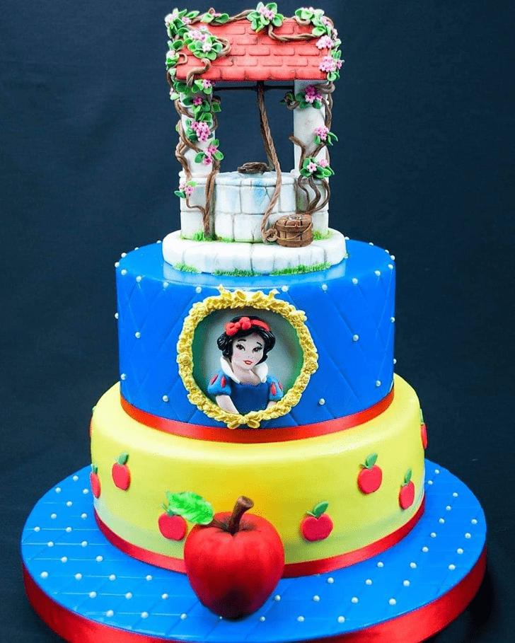 Fascinating Snow White Cake