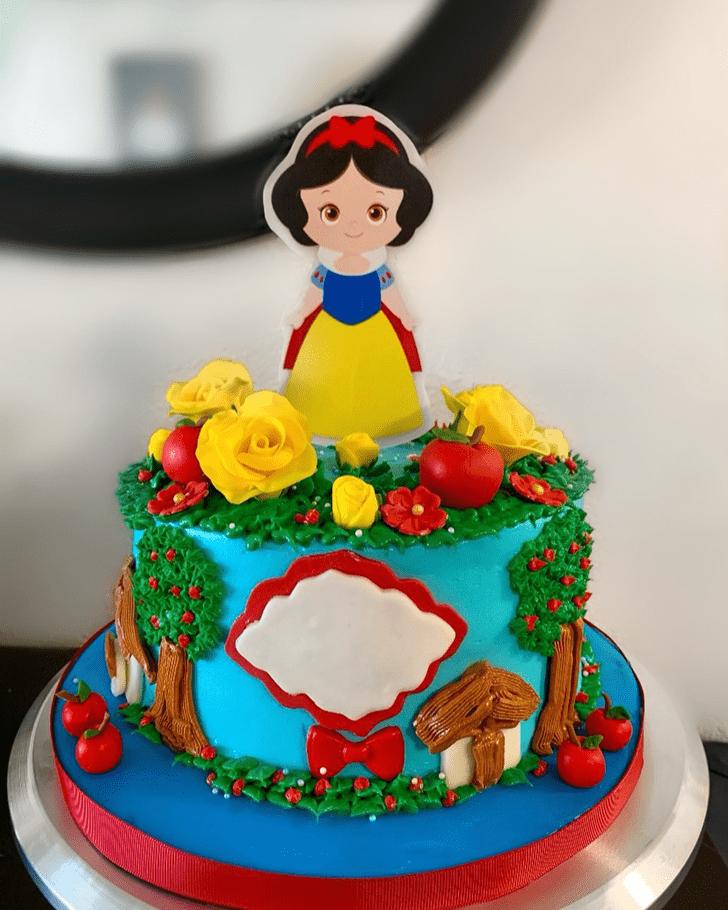 Splendid Snow White Cake