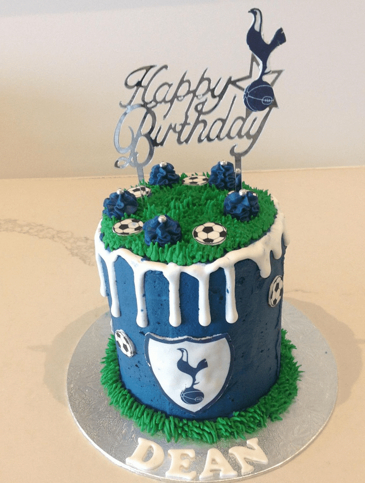 Bewitching Soccer Cake