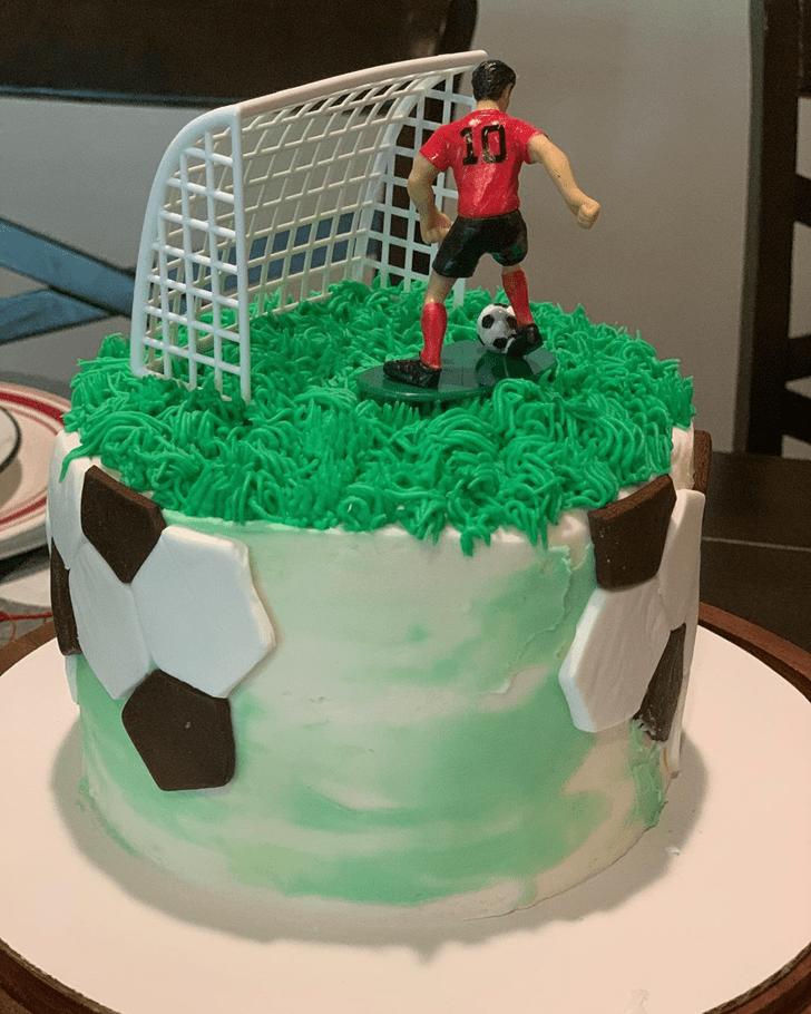 Classy Soccer Cake