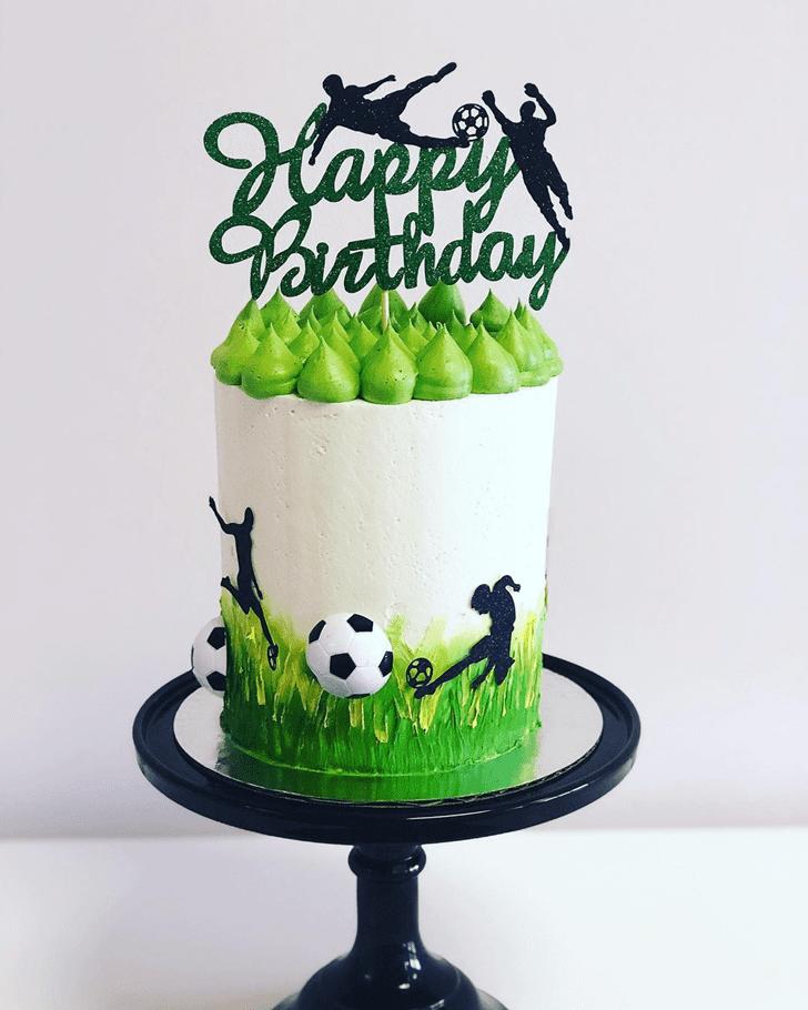 Cute Soccer Cake