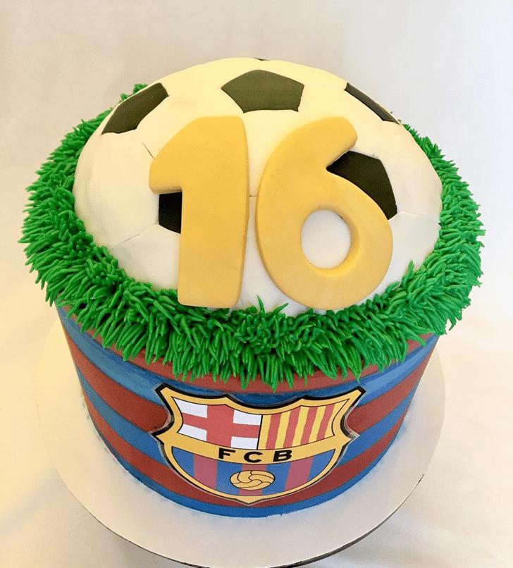 Dazzling Soccer Cake