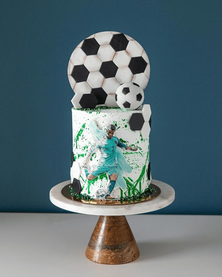 Divine Soccer Cake