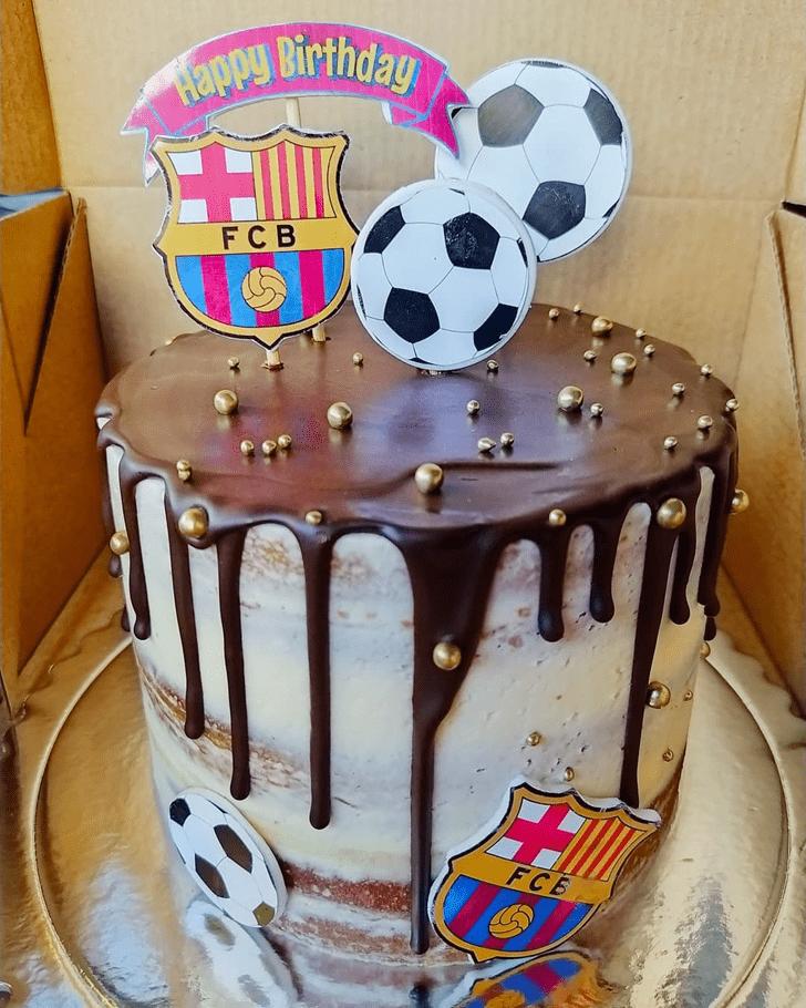 Ideal Soccer Cake