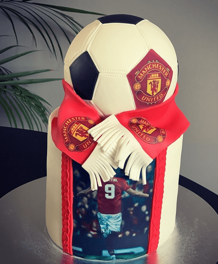 Magnificent Soccer Cake