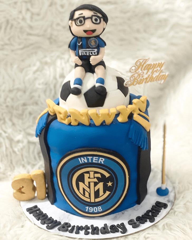 Ravishing Soccer Cake