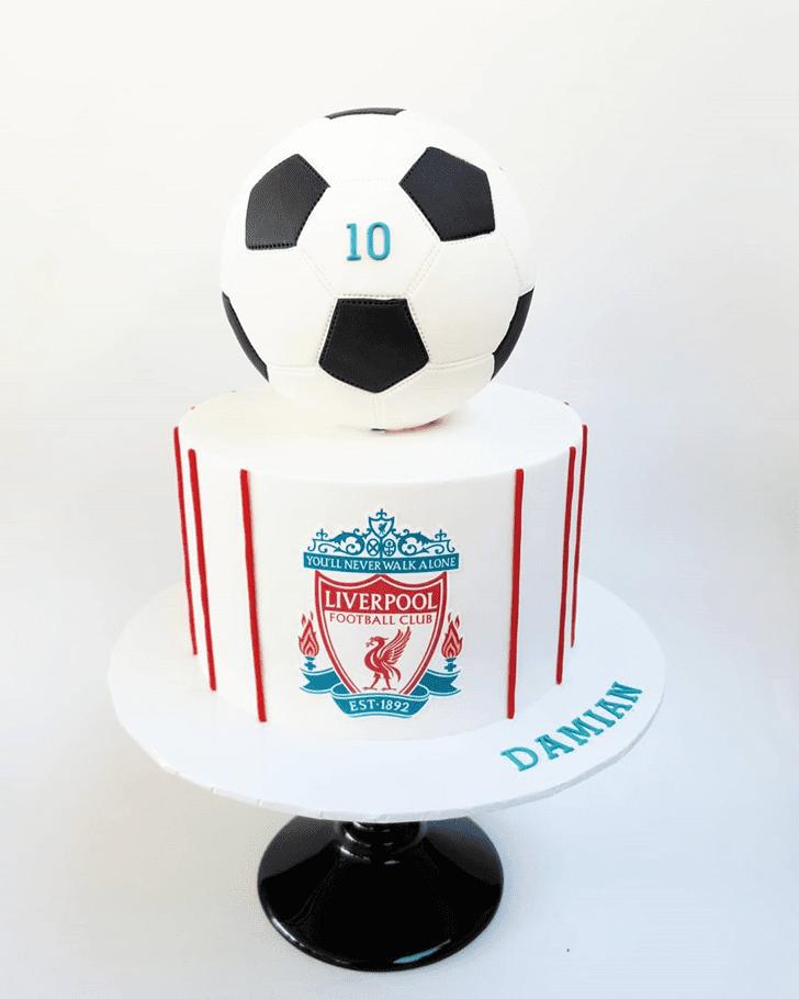 Stunning Soccer Cake
