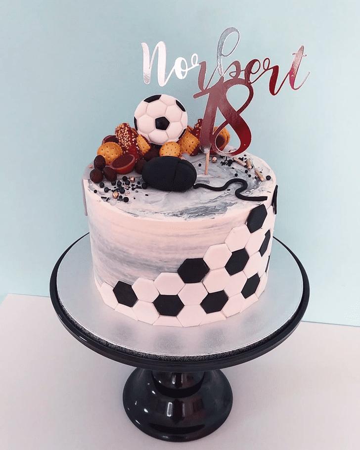 Superb Soccer Cake