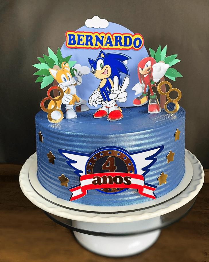 Adorable Sonic Cake