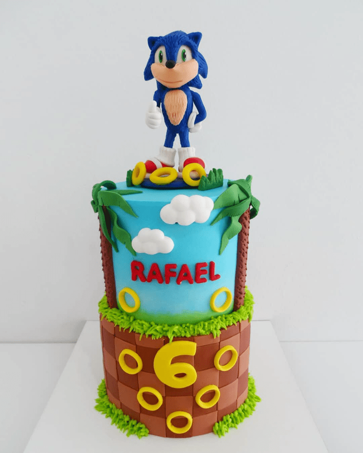 Alluring Sonic Cake