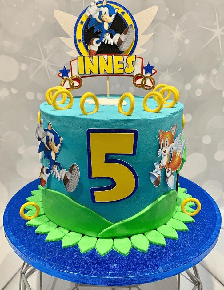 Appealing Sonic Cake