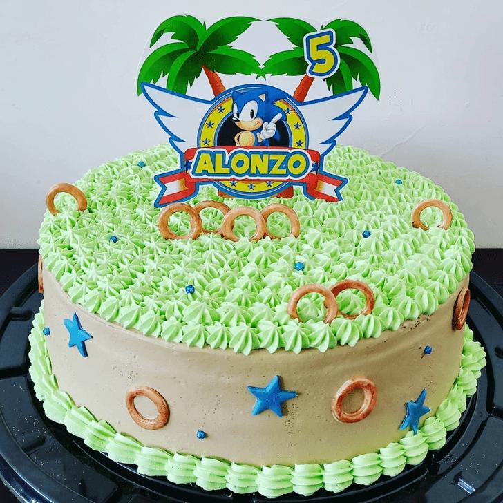 Captivating Sonic Cake