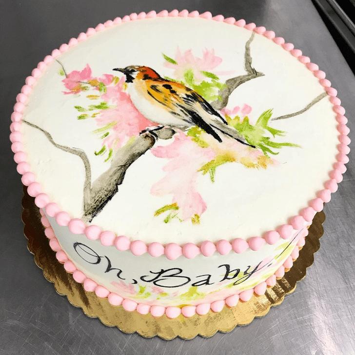 Charming Sparrow Cake