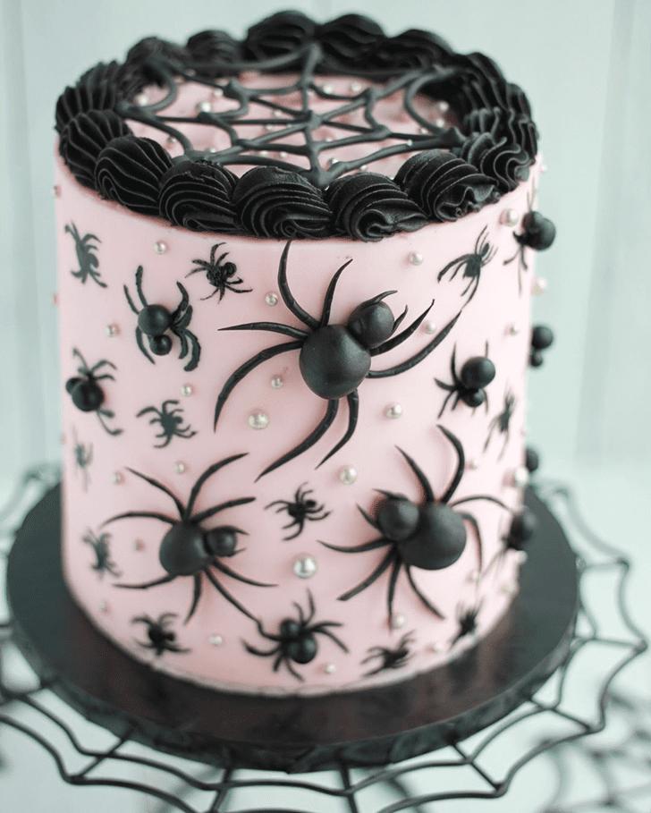 Adorable Spider Cake