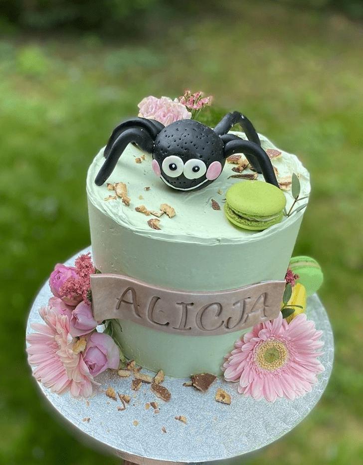 Beauteous Spider Cake