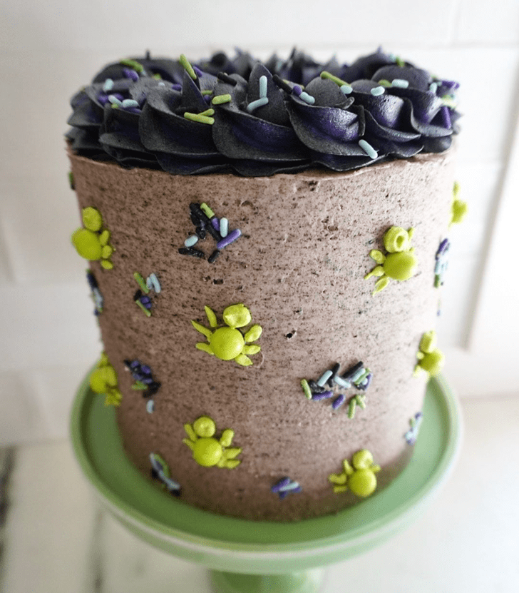 Comely Spider Cake