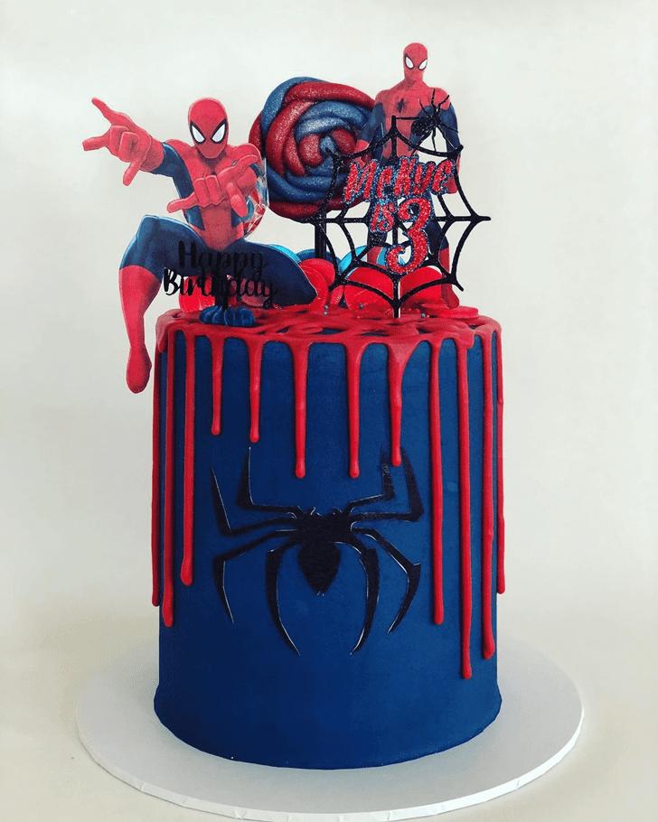 Bewitching Spiderman Cake