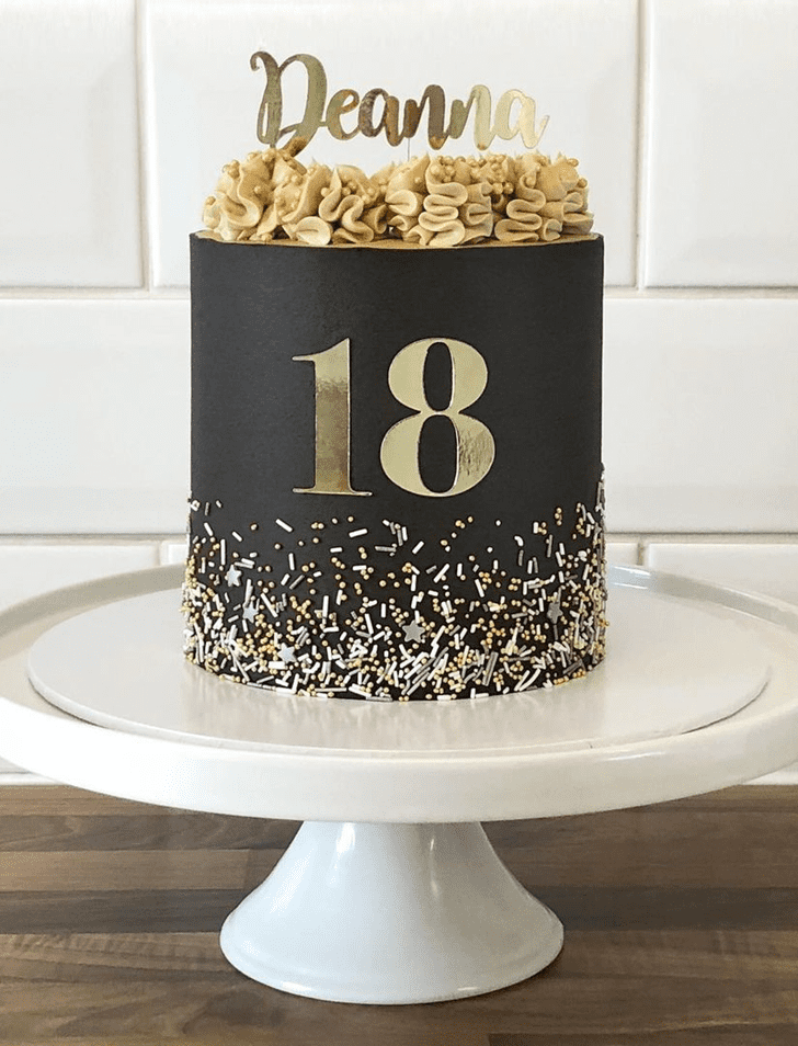 Angelic Sprinkles Cake