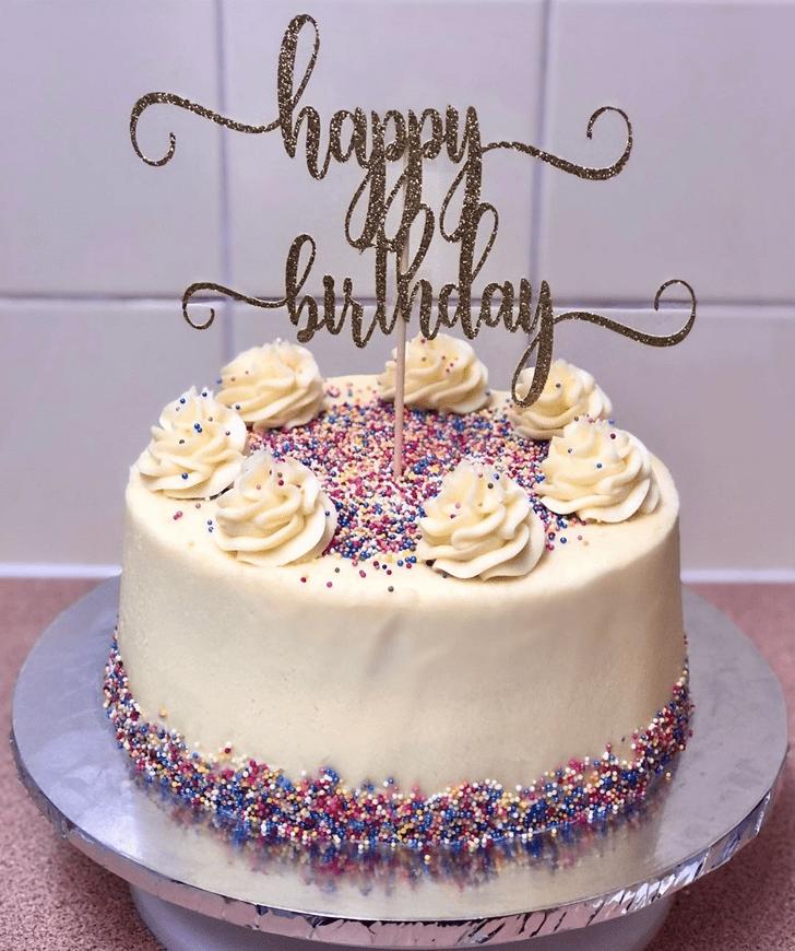 Appealing Sprinkles Cake